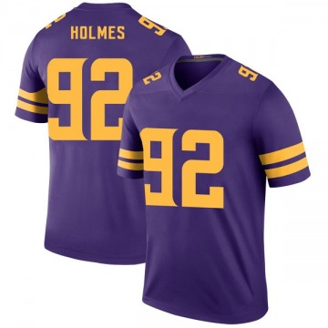 Youth Jalyn Holmes Minnesota Vikings Legend Purple Color Rush Jersey